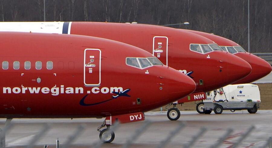Det norske lavprisselskab Norwegian, der blev grundlagt den 22. januar 1993, har haft en markant vækst i antallet i passagerer i juni, hvor der samtidig er blevet færre tomme flysæder.