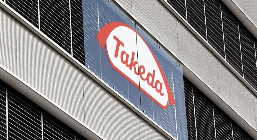 Det japanske medicinalselskab Takeda Pharmaceuticals.