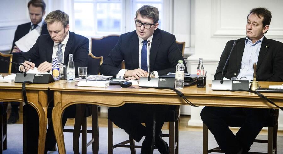 ARKIVFOTO: Erhvervsminister Troels Lund Poulsen i samråd på Christiansborg om udflytning af statslige arbejdspladser til provinsen.