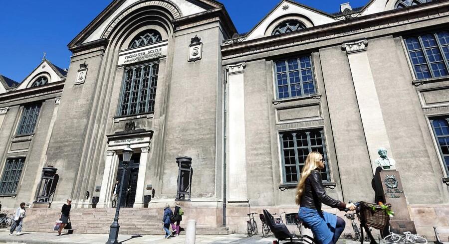 Arkivfoto. Københavns Universitet Juridisk fakultet Vor Frue Plads.