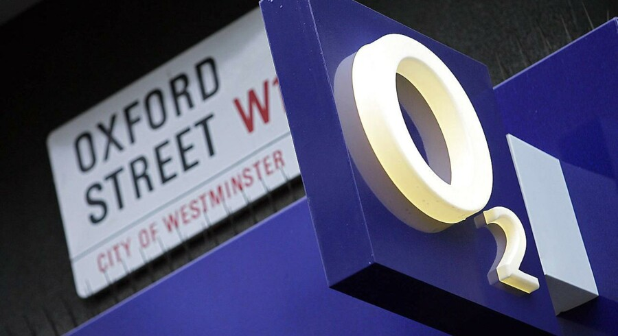Arkivfoto: O2 logo.