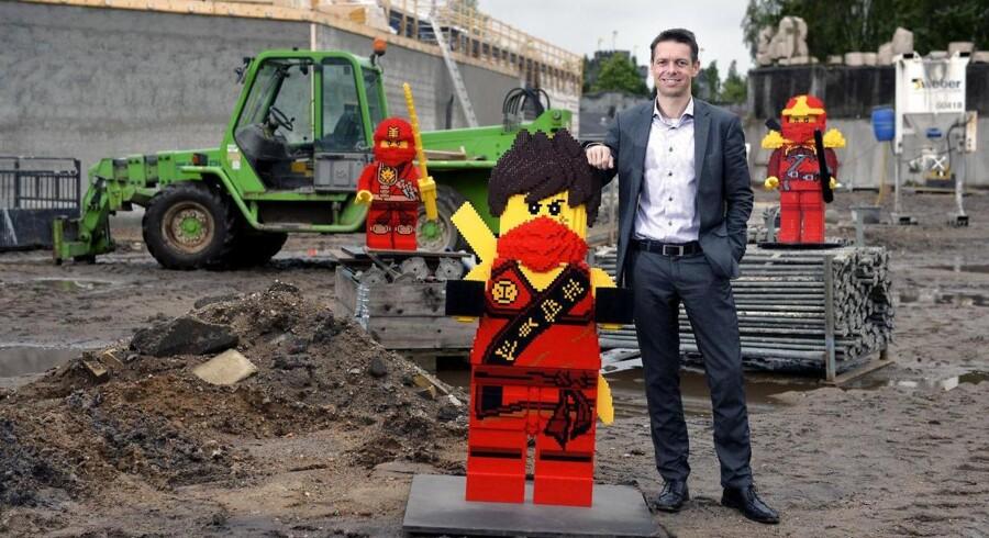Legoland pressemøde. Torsdag den 17. september. Direktør Christian Woller præsenterer. I 2016 udvider Legoland parken med mere end 5000 m2, hvor et helt nyt land i løbet af vinteren vil skyde op.(c)2015 Palle Peter Skov. (Foto: Palle Skov/Scanpix 2015) (Foto: Palle Skov/Scanpix 2015)