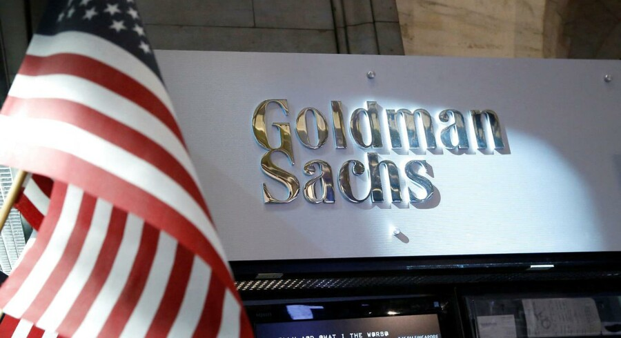 Goldman Sachs kontor i New York.
