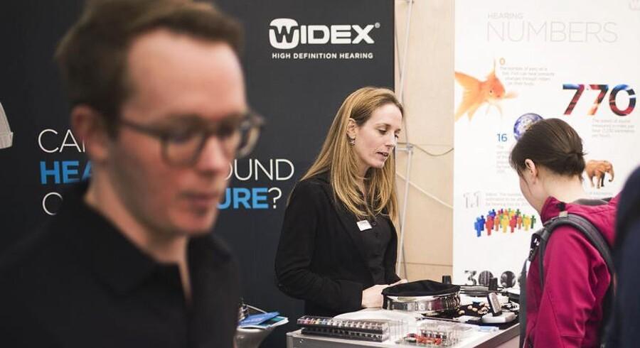Widex er den tredjestørste danske producent af høreapparater