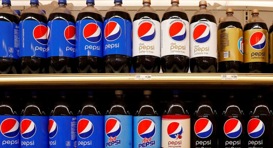 FILE PHOTO: Pepsi products are displayed in a supermarket in New York City, U.S. February 15, 2017. REUTERS/Brendan McDermid/File Photo GLOBAL BUSINESS WEEK AHEAD SEARCH GLOBAL BUSINESS 10 JULY FOR ALL IMAGES