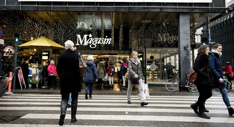 Magasin facade i København.