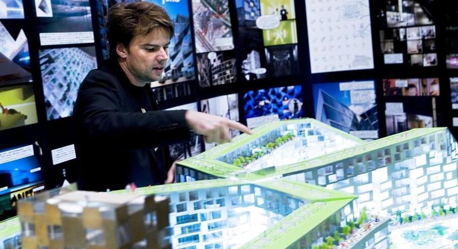 Det danske islæt til Googles nye hovedkontor kommer i form af arkitekten Bjarke Ingels, der skal være med til at designe de nye kontorbygninger.
