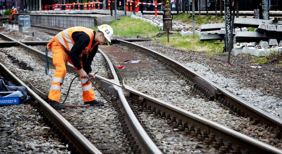 »Ophævelsen af kontrakten på sporombygningsprojektet på Østfyn bidrager til større usikkerhed om prognosen for resultatet end sædvanligt,« siger Jesper Arkil, der er administrerende direktør i Arkil.