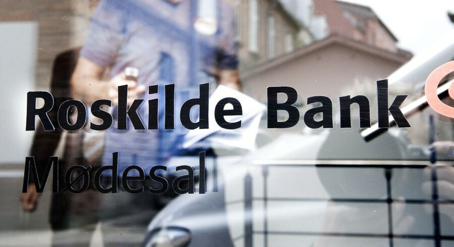 (ARKIV) Roskilde Bank den 11. juli 2008.