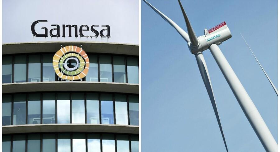 Gamesa er et spansk vindmølleselskab, mens Siemens er en større, tysk industrikoncern, der længe har været store inden for havvindmøller.