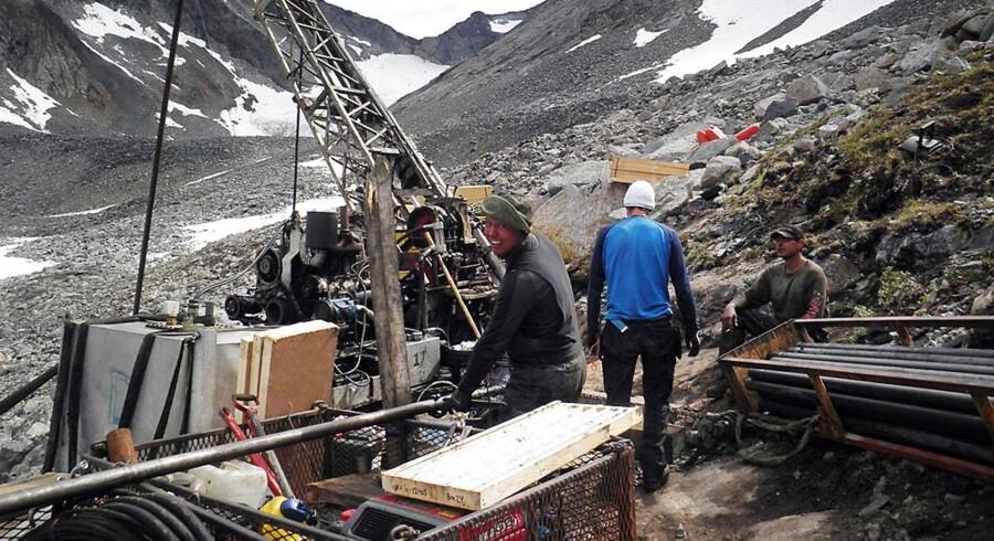 Nunaminerals i Grønland.