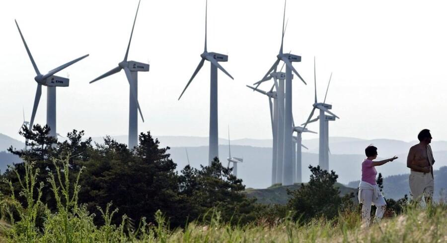 Spanien har en opstillet vindmøllekapacitet på 22,99 gigawatt, hvilket vidner om tidligere tiders storhed.