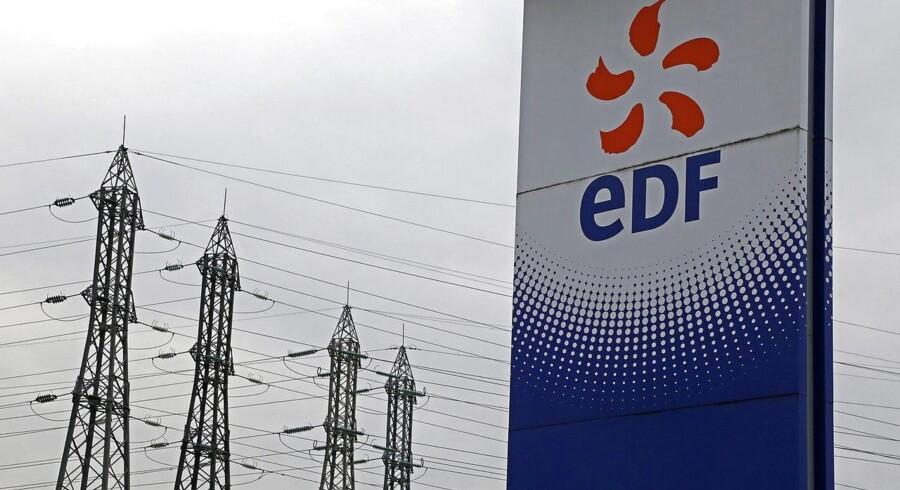 EDF, der er Europas største strømudbyder, havde et driftsresultat (EBITDA) på 17,6 mia. euro, hvilket ifølge Bloomberg News er bedre end analytikernes forventning, der lød på 17,47 mia. euro. Arkivfoto.