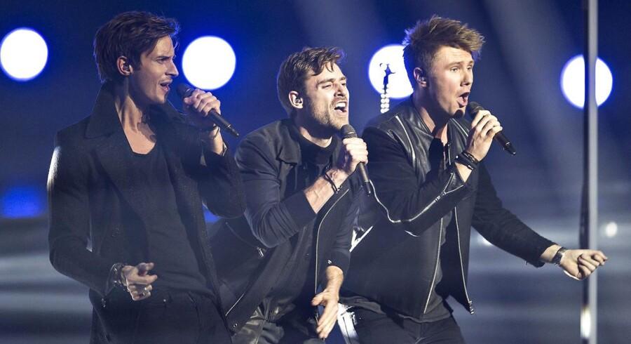 Lighthouse X vandt det danske Melodi Grand Prix, men hidtil skjulte optagelser belaster deres vinderchancer i Eurovision Song Contest, som afholdes lørdag den 14. maj.