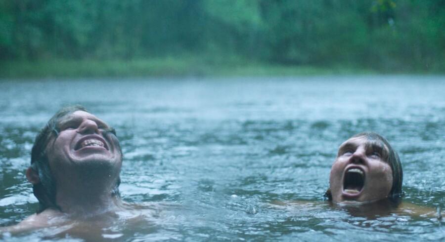 Eero Milonoff og Eva Melander i den dansk-svenske film »Gräns«, der vises ved filmfestivalen i Cannes.