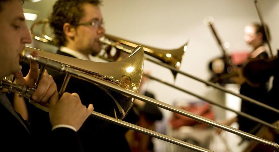 En fusion med de øvrige kunstskoler vil gå ud over konservatoriets kernefaglighed, frygter Bertel Krarup, rektor på Det Kongelige Danske Musikkonservatorium. Her giver elever koncert i 2009.