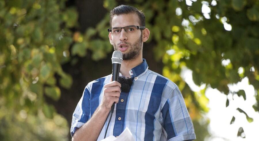 Det vakte opsigt, da Mohammad Ahmad annoncerede sit kandidatur, idet han i foråret 2014 i en kort periode var talsmand for den omstridte Grimhøj-moské i Aarhus.