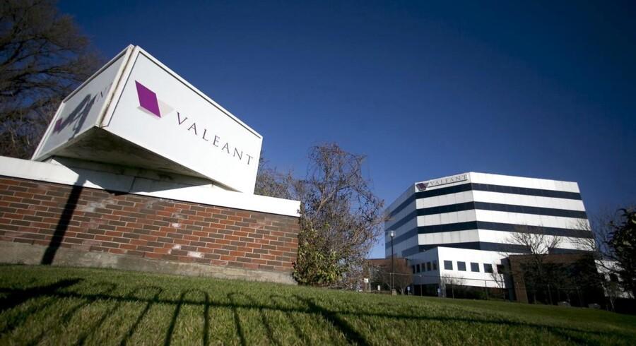 Valeant Pharmaceuticals hovedkvarter i Laval, Quebec.