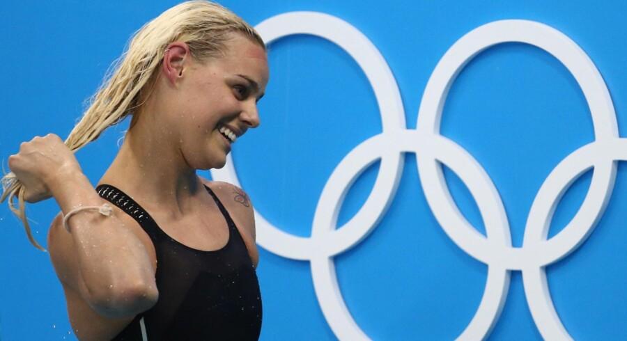 Pernille Blume er olympisk mester i 50 meter fri. Reuters/Marcos Brindicci