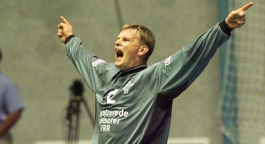 43-årige Søren Haagen har mod på mere håndbold, og han har nu lavet en etårig aftale med KIF Kolding København. Scanpix/Ernst Van Norde/arkiv