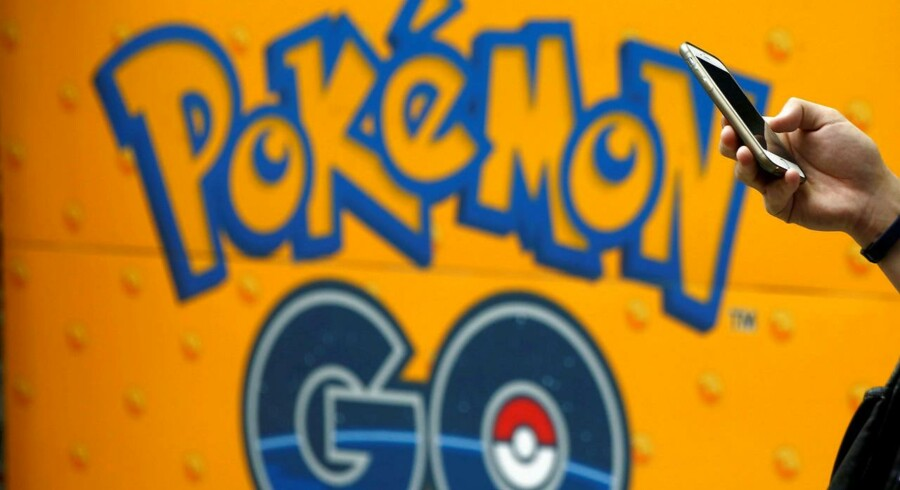 """Arkivfoto. Torsdag annoncerede Niantic, firmaet bag hittet """"Pokémon Go"""", at virksomheden har tilføjet Starbucks til sin voksende liste af virksomhedspartnere."""