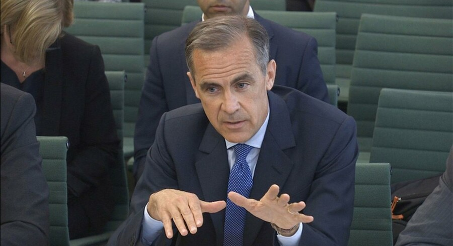 Mark Carney, centralbankchefen hos Bank of England.