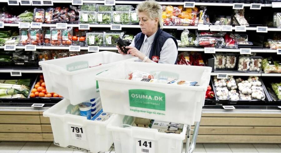Supermarkeder får nu lettere ved at levere mad til WeFood.