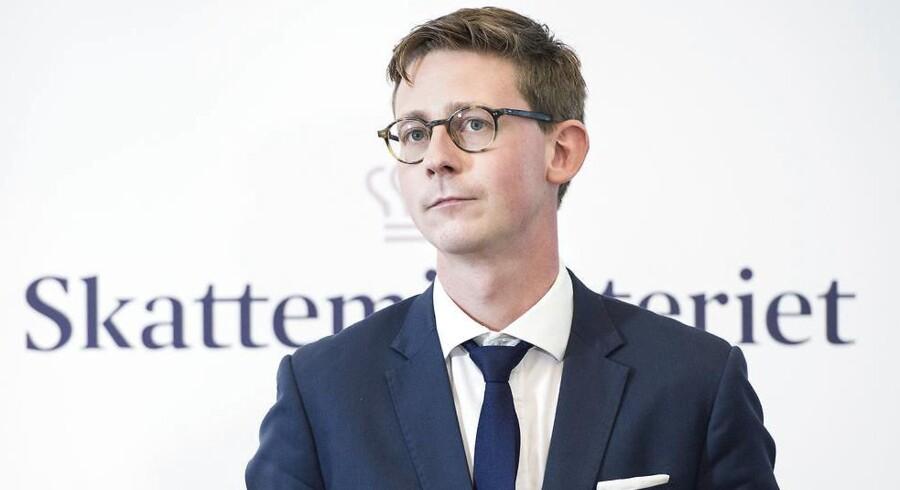 Arkivfoto: Skatteminister Karsten Lauritzen (V) vil inden sommer have klarlagt, hvilke politiske værktøjer der kan skrues på for at komme skattely-problemet til livs.