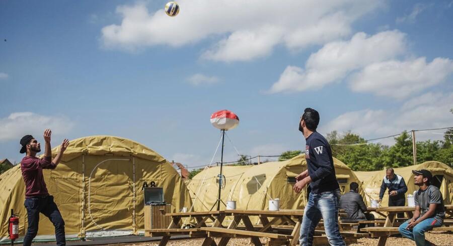 Asylcenteret i Næstved, hvor lejrchefen er blevet fyret for at lægge en asylansøger i benlås