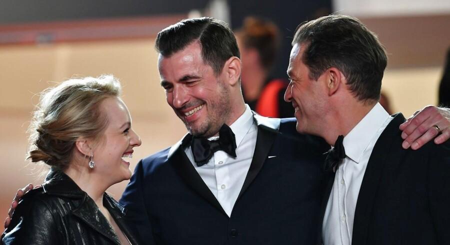 Arkivfoto. »The Square« med danske Claes Bang i hovedrollen har vundet den fornemste pris ved filmfestivalen i Cannes.