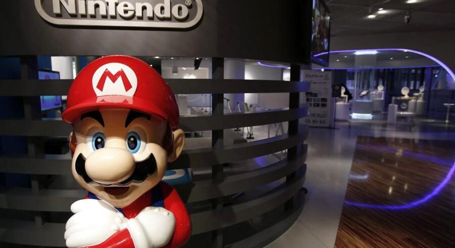 Nintendos ikoniske spilfigur, Super Mario, skal nu i gang på smartphonetelefoner og bidrage til ny indtjening for det trængte selskab. Arkivfoto: Kiyoshi Ota, EPA/Scanpix