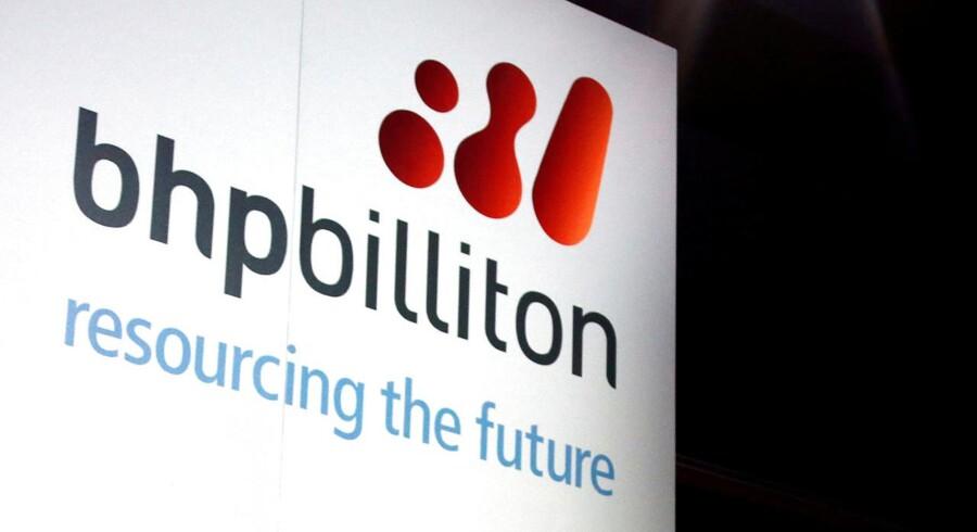 Det australske selskab, BHP Billiton.