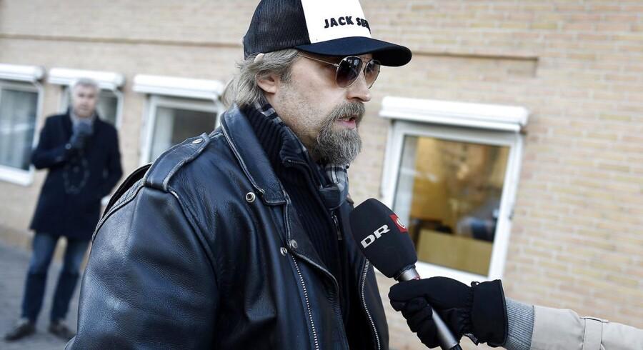Tidligere journalist på Se og Hør, Ken B Rasmussen ankommer til Retten i Glostrup 24. november, hvor der afsiges dom i Se og Hør-sagen (Foto: Liselotte Sabroe/Scanpix 2016)