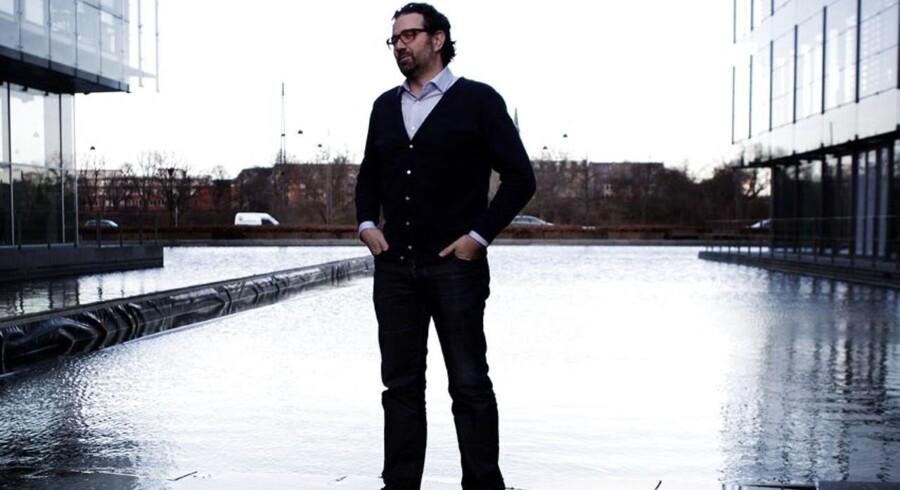 Zendesk-stifter Mikkel Svane har skrevet en bog om firmaets vej til børsen i New York. ARKIVFOTO