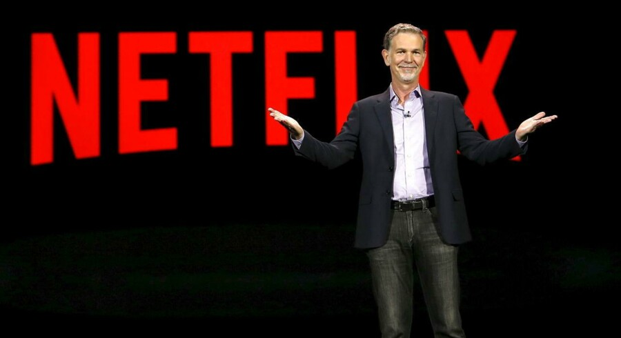 Reed Hastings, medstifter af og topchef for Netflix, udelukker ikke længere, at abonnenterne vil kunne få mulighed for at downloade film og TV-serier, så de kan ses, når der ikke er internetforbindelse. Arkivfoto: Steve Marcus, Reuters/Scanpix