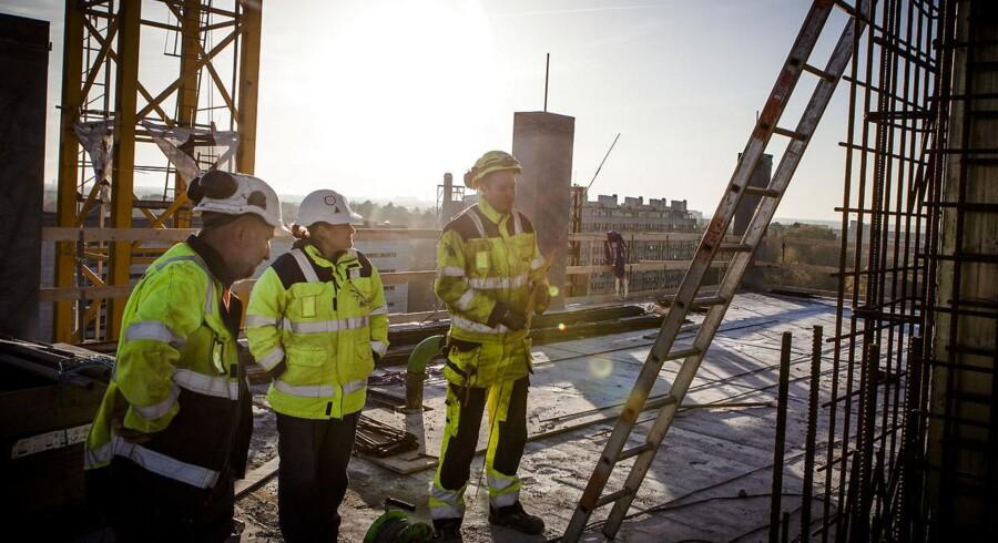 ARKIVFOTO: På besøg i det kommende UCC-kompleks (University College Copenhagen) i Carlsbergbyen med Carlsbergbyens direktør Jens Nyhus.