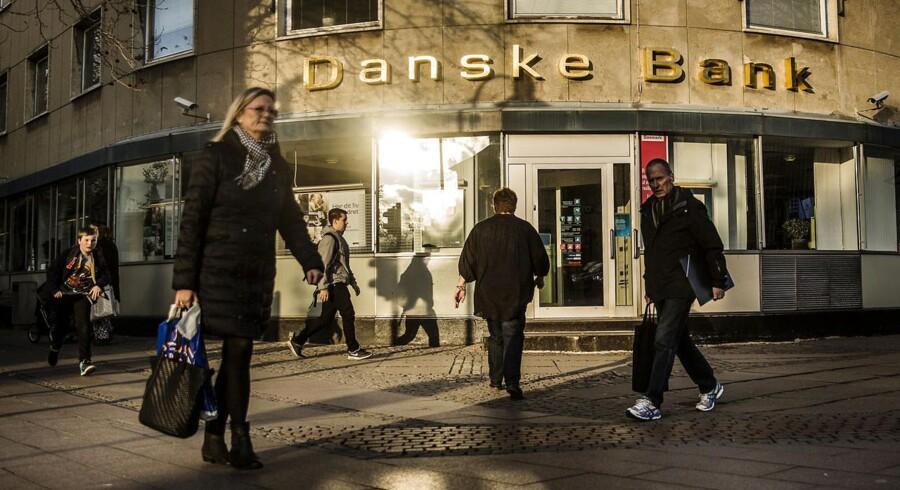 Danske Bank filial i Lyngby. Lyngby Hovedgade 39, 2800 Kgs. Lyngby