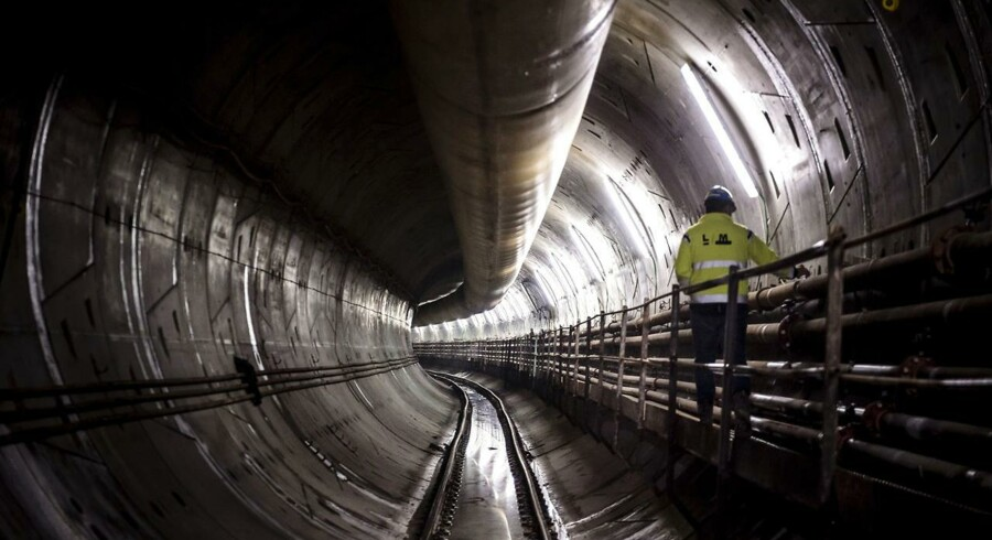Den nye metro-cityring bygges af det italiensk-ejede selskab Copenhagen Metro Team (CMT).