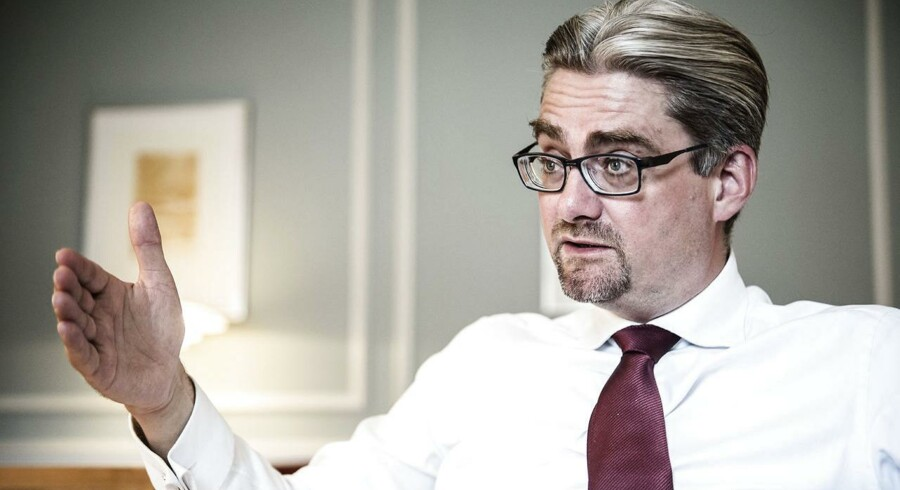 Justitsminister Søren Pind (V).