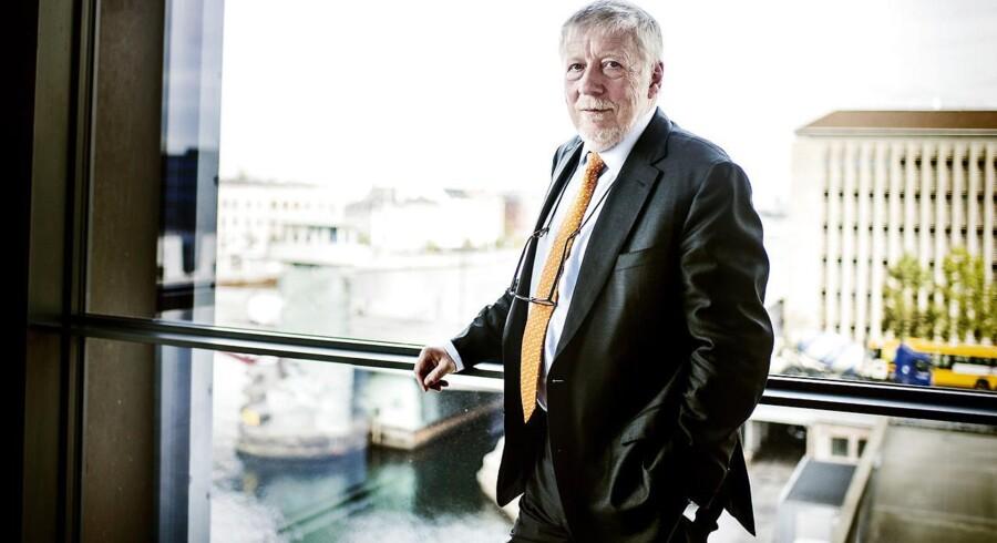 Peter Lybecker, adm. direktør for Nordea Bank Danmark