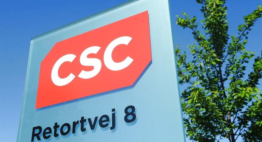 CSC står ifølge DR foran stor fyringsrunde. Foto: JENS NØRGAARD LARSEN/Scanpix.