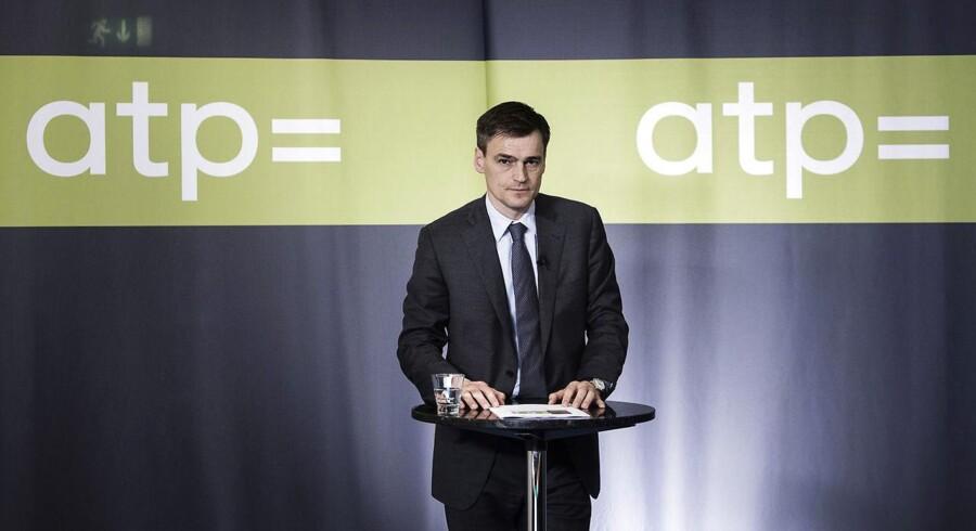 Carsten Stendevad, topchef for ATP (Foto: Thomas Lekfeldt/Scanpix 2014)