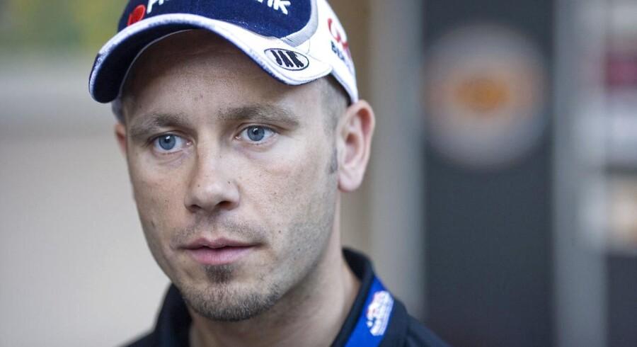 ARKIVFOTO 2008. Den tidligere verdensmester i speedway Nicki Pedersen blev onsdag aften kørt væk fra speedwaybanen i Holsted i en ambulance.