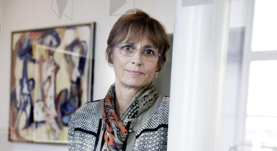 Direktør for rederiet J.Lauritzen, Birgit Aagaard-Svendsen.