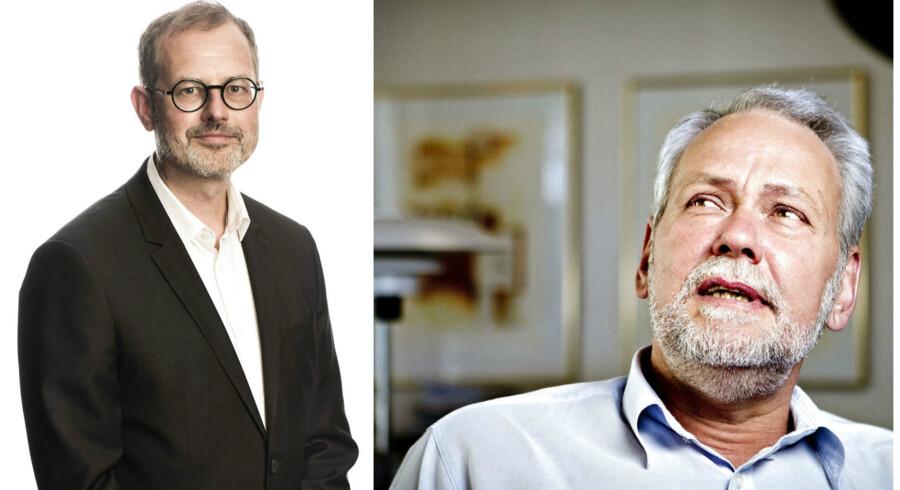 Claus Skovhus og Dennis Kristensen.