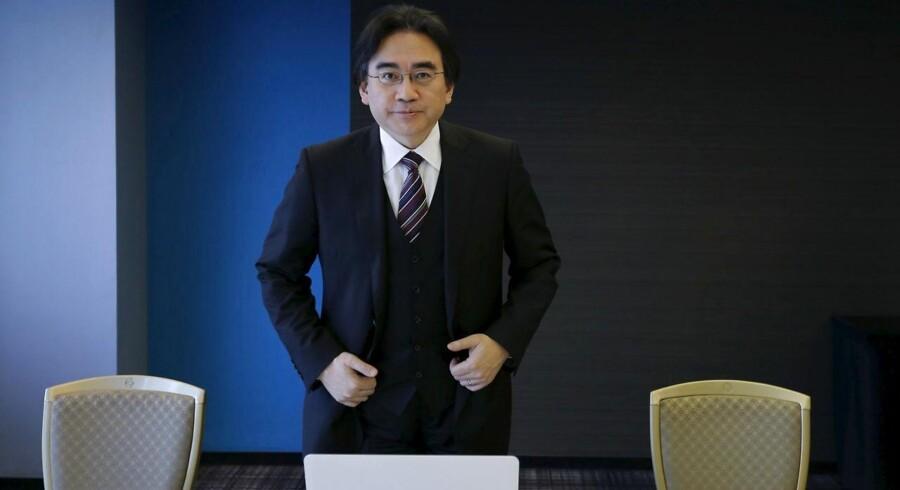 Nintendos topchef siden 2002, Satoru Iwata, døde i weekenden. Arkivfoto: Toru Hanai, Reuters/Scanpix