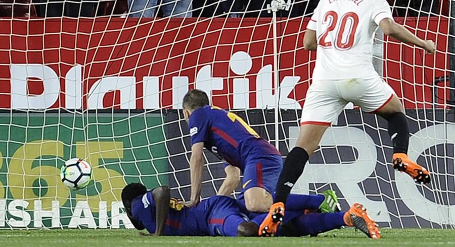 Sevilla kom på 2-0, før Barcelona til sidst fandt melodien.