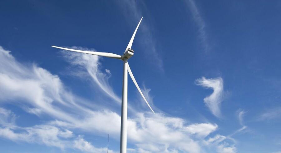 Vestas skal levere vindmøller med en samlet kapacitet på 1000 MW til et enormt norsk vindprojekt. Det er nok til at betjene flere hundredetusinde norske hjem. Arkivfoto.