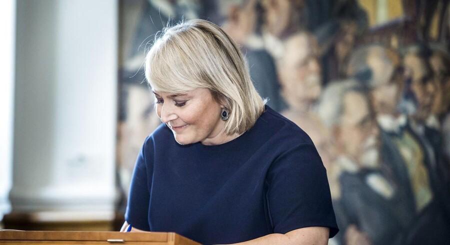 Det er bekymrende, at regeringen vil masseovervåge borgerne, siger Christina Egelund