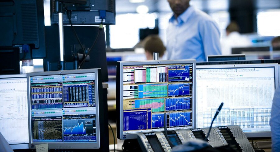 Under aktieuroen i årets første uger har de private investorer været meget aktive med både køb og salg. Onsdag gik de shopamok, så købsaktiviteten var knap 180 procent højere end gennemsnittet for året.
